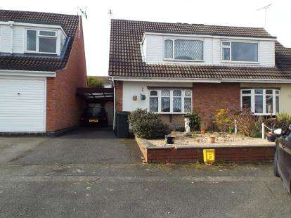 3 Bedrooms Semi Detached House for sale in Mersey Road, Bulkington, Bedworth, Warwickshire