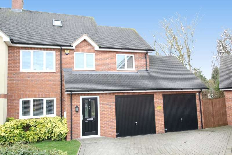 5 Bedrooms Semi Detached House for sale in Wheatmore Grove, Sutton Coldfield, B75 6JE