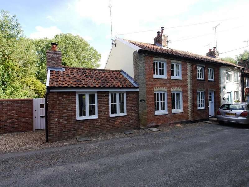 1 Bedroom End Of Terrace House for sale in Swingleton Green, Monks Eleigh, IP7 7AB