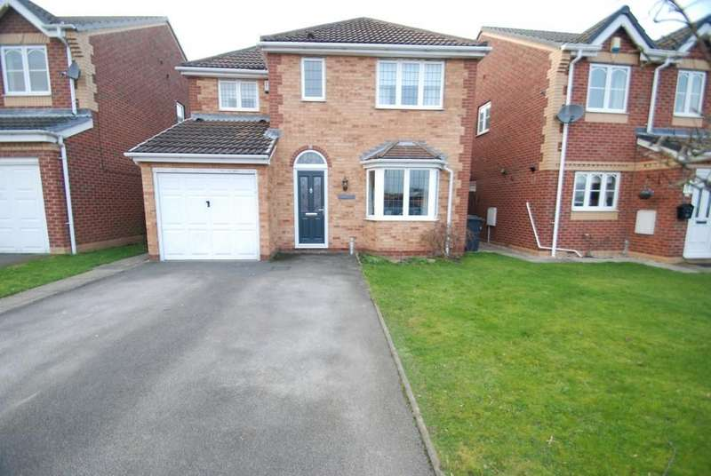 4 Bedrooms Detached House for sale in Hawkwell Bank, Ardsley, Barnsley S71