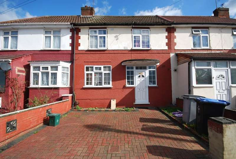 3 Bedrooms Terraced House for sale in ABBEY AVENUE, WEMBLEY, MIDDLESEX, HA0 1LL