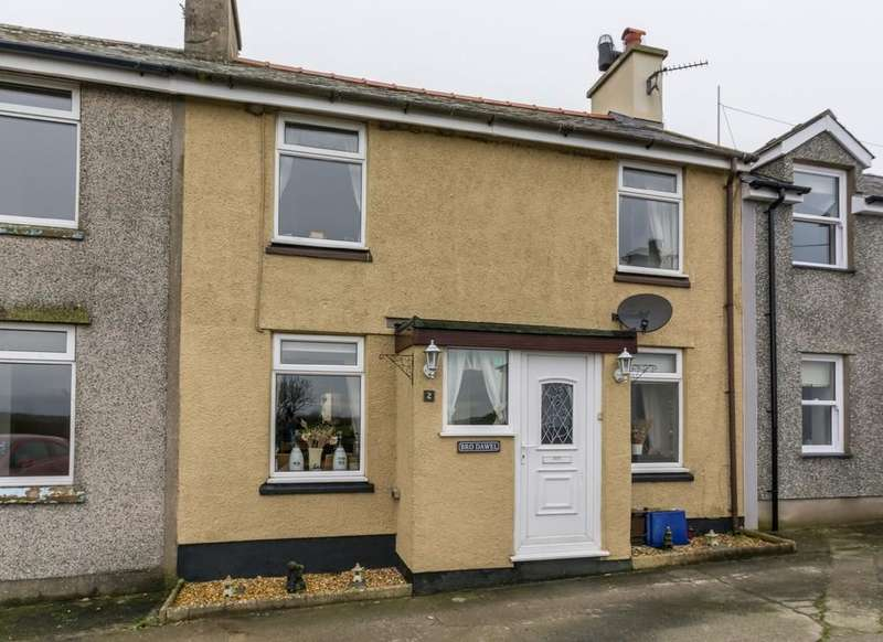 2 Bedrooms Terraced House for sale in Brodawel, Coedana, North Wales