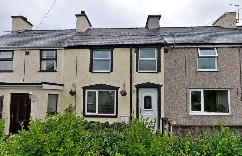 2 Bedrooms Terraced House for sale in Corra Linn, Bethel, North Wales