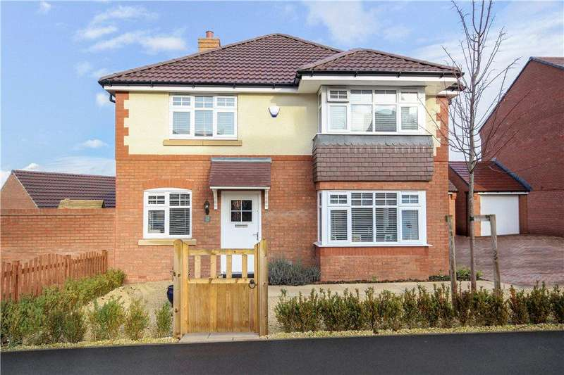 4 Bedrooms Detached House for sale in Beauty Bank, Evesham, Worcestershire, WR11