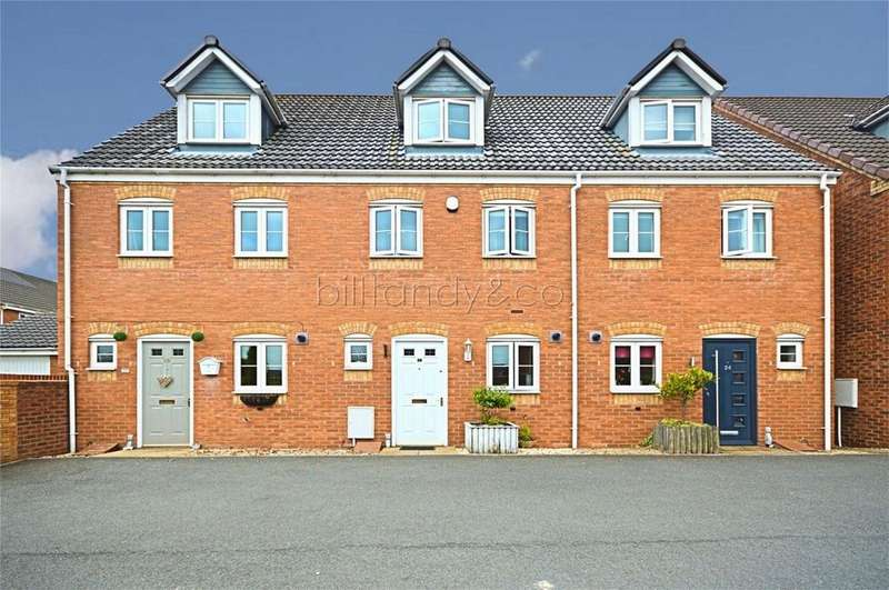 3 Bedrooms Terraced House for sale in St Johns Close, Chase Terrace, Staffordshire