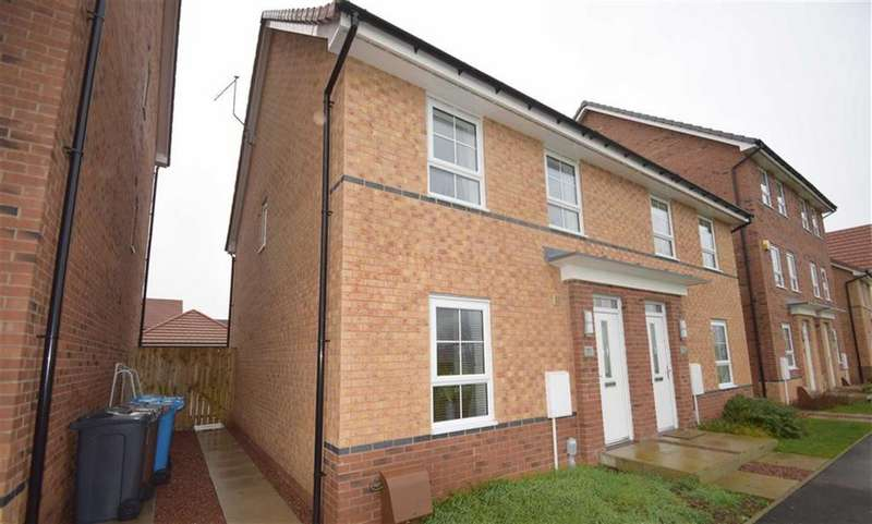 3 Bedrooms Semi Detached House for sale in Runton Walk, Liberty Green, Hull, East Yorkshire, HU8