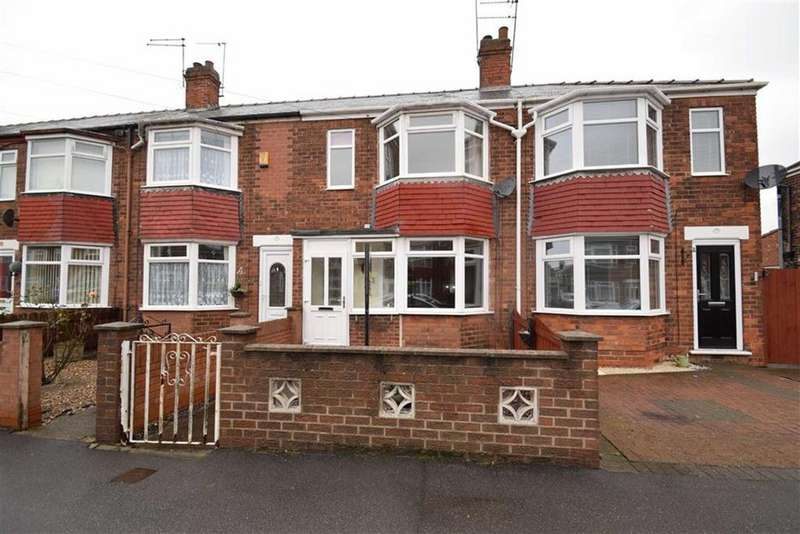 3 Bedrooms Terraced House for sale in Brendon Avenue, Hull, East Yorkshire, HU8
