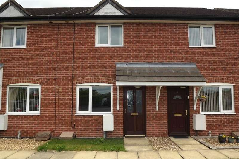 2 Bedrooms Terraced House for sale in Brierly Court, Rilshaw Lane, WINSFORD, Cheshire