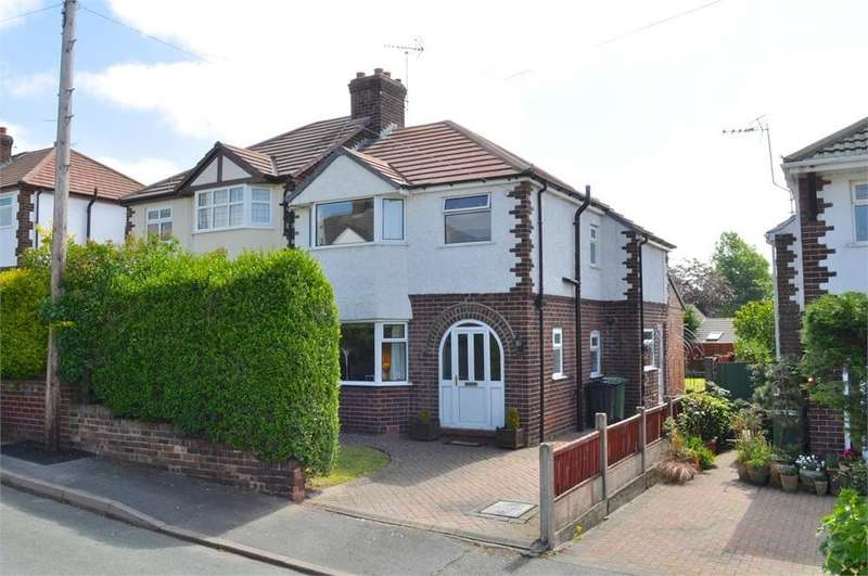 3 Bedrooms Semi Detached House for sale in Whitley Avenue, Barnton, Northwich, Cheshire