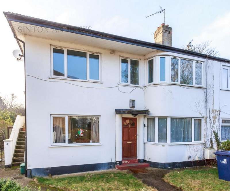 2 Bedrooms Maisonette Flat for sale in Grafton Close, Ealing, W13