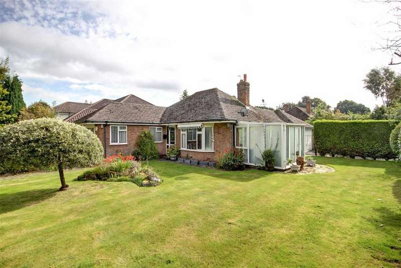 3 Bedrooms Detached Bungalow for sale in Gorse Bank Road, Hale Barns, Cheshire