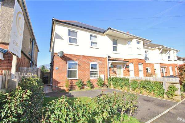 2 Bedrooms Semi Detached House for sale in Coombe Avenue, Bournemouth