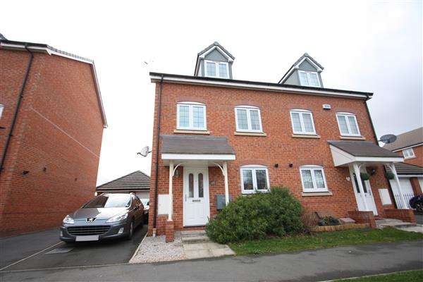 3 Bedrooms Semi Detached House for sale in Jackswood Avenue, Ellesmere Port