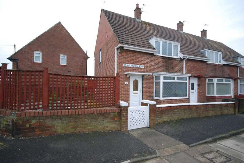 2 Bedrooms Terraced House for sale in Cramlington Road, Hylton Castle