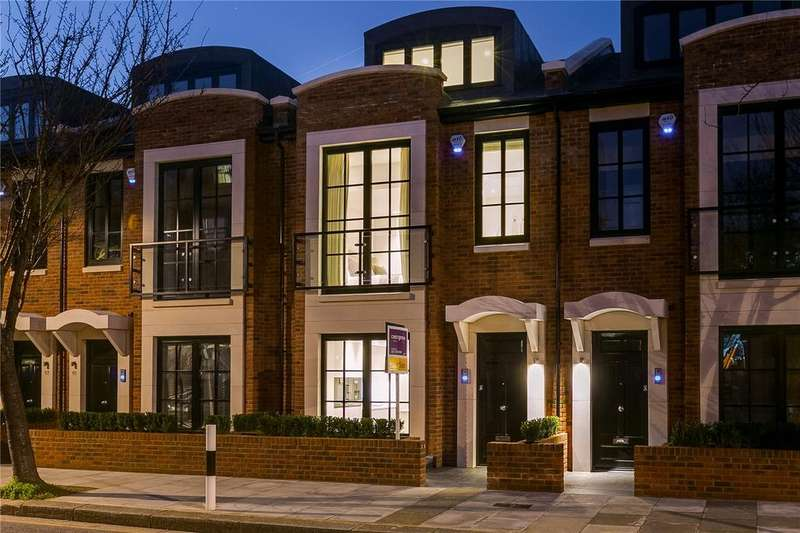 4 Bedrooms Terraced House for sale in Hurlingham Terrace, Sulivan Road, Fulham, London