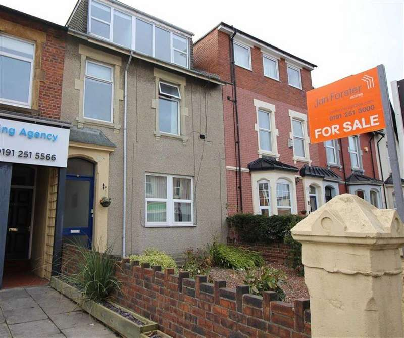 5 Bedrooms Maisonette Flat for sale in Whitley Road, Whitley Bay