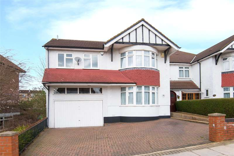 5 Bedrooms Semi Detached House for sale in Penshurst Gardens, Edgware, HA8