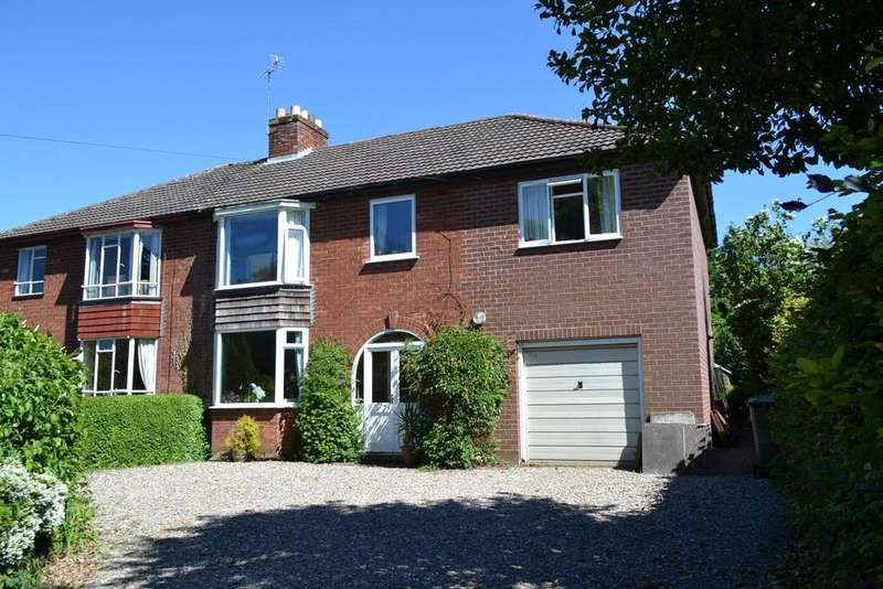 4 Bedrooms Semi Detached House for sale in Love Lane, Bridgnorth, Shropshire