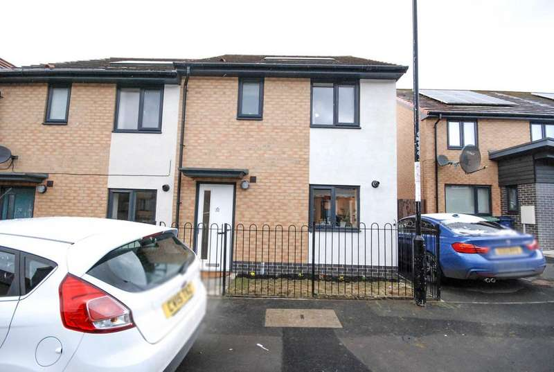 3 Bedrooms Semi Detached House for sale in Moulton Place, Blakelaw