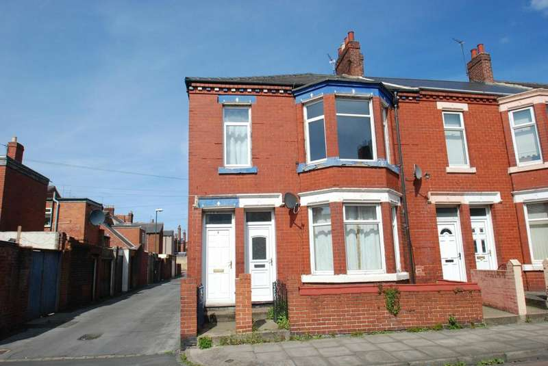 3 Bedrooms Flat for sale in Alverthorpe Street, South Shields