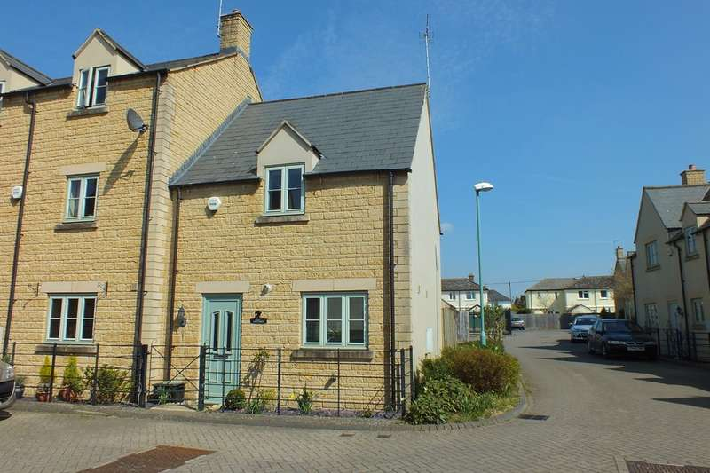 2 Bedrooms End Of Terrace House for sale in Winchcombe Gardens, South Cerney