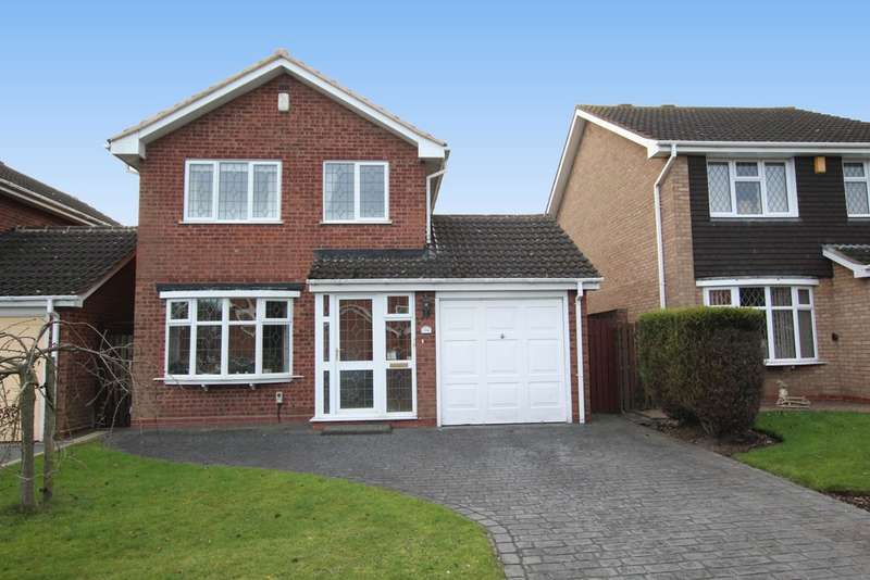 3 Bedrooms Detached House for sale in Marfield Close, Minworth, Sutton Coldfield. B76 1YD