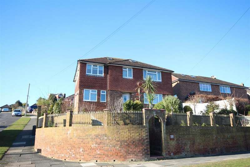 4 Bedrooms Detached House for sale in Eldred Avenue, Westdene, Brighton