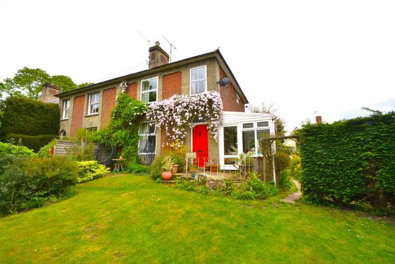 4 Bedrooms Semi Detached House for sale in Holton Road, Halesworth