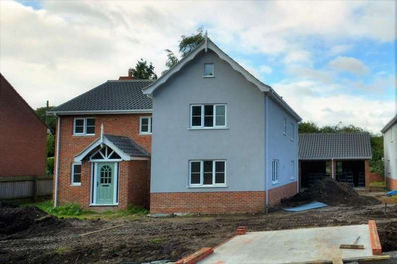 4 Bedrooms Detached House for sale in Grove Road, Brockdish