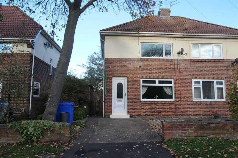 2 Bedrooms Semi Detached House for sale in Arcot Avenue, Nelson Village, Cramlington