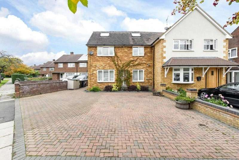 5 Bedrooms Semi Detached House for sale in Catham Close, St. Albans, Hertfordshire, AL1