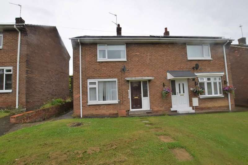 2 Bedrooms Semi Detached House for sale in Coquet Gardens, South Stanley