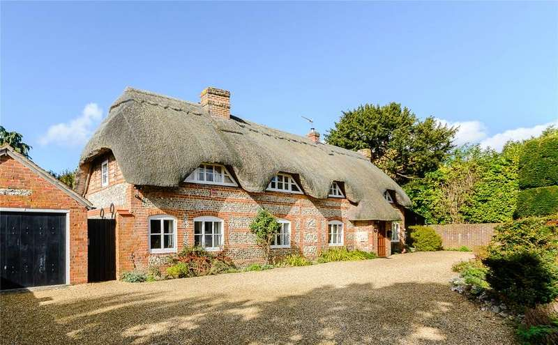 4 Bedrooms Detached House for sale in Wildhern, Andover, Hampshire