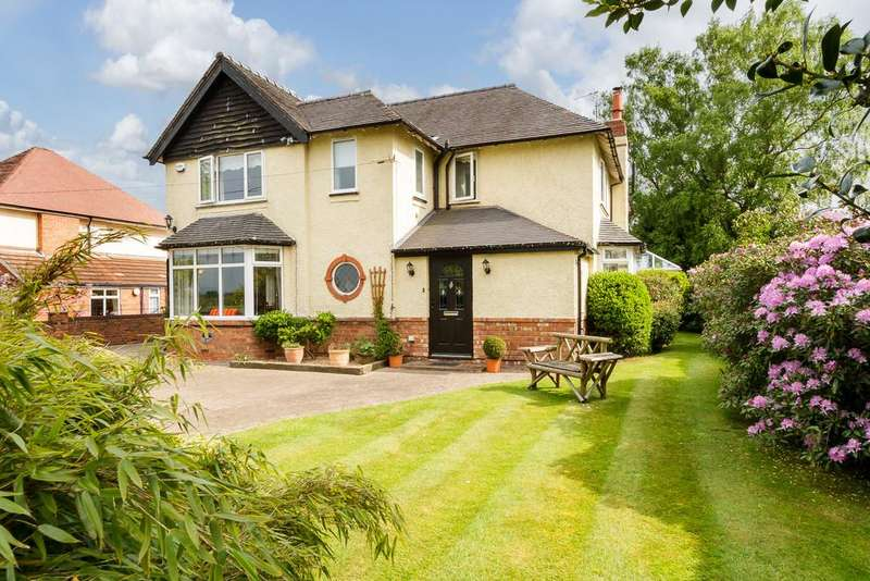 4 Bedrooms Detached House for sale in Willaston, Nantwich