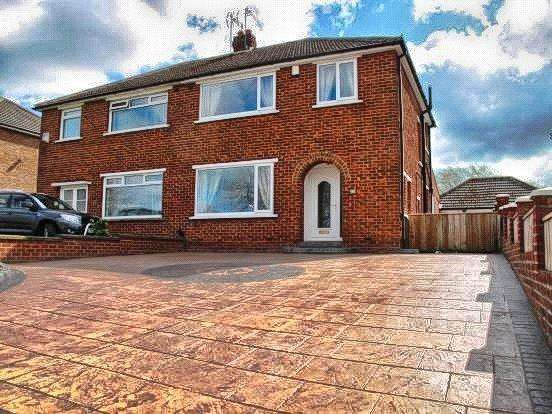 3 Bedrooms Semi Detached House for sale in Low Lane, Brookfield