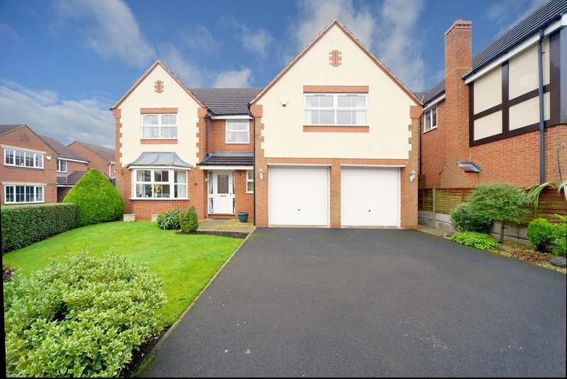 5 Bedrooms Detached House for sale in Eborne Croft, Balsall Common