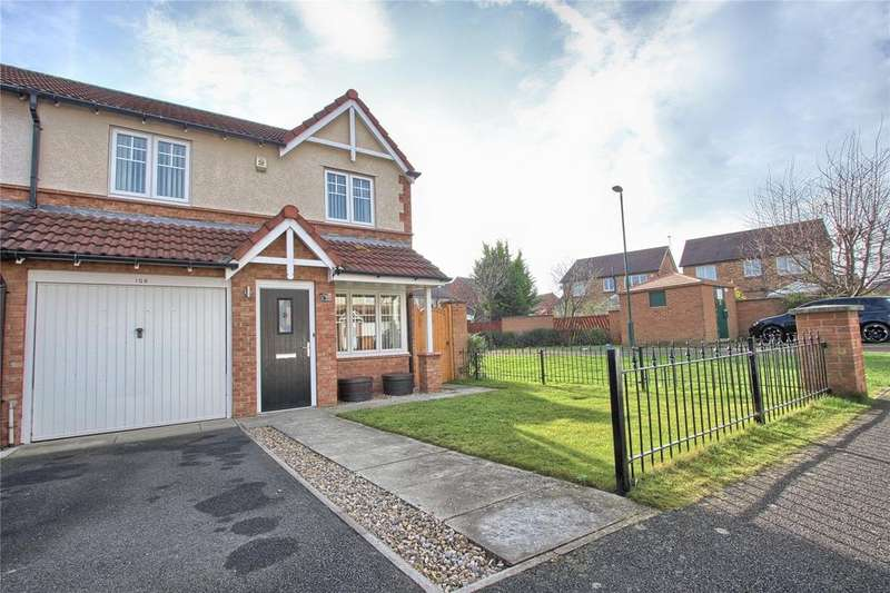 3 Bedrooms Semi Detached House for sale in Torcross Way, Redcar