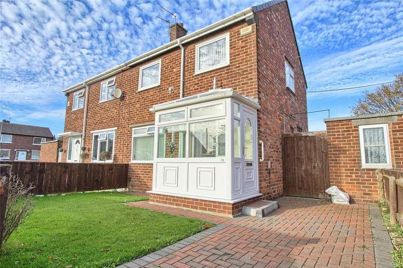 2 Bedrooms Semi Detached House for sale in Sidlaw Road, Billingham