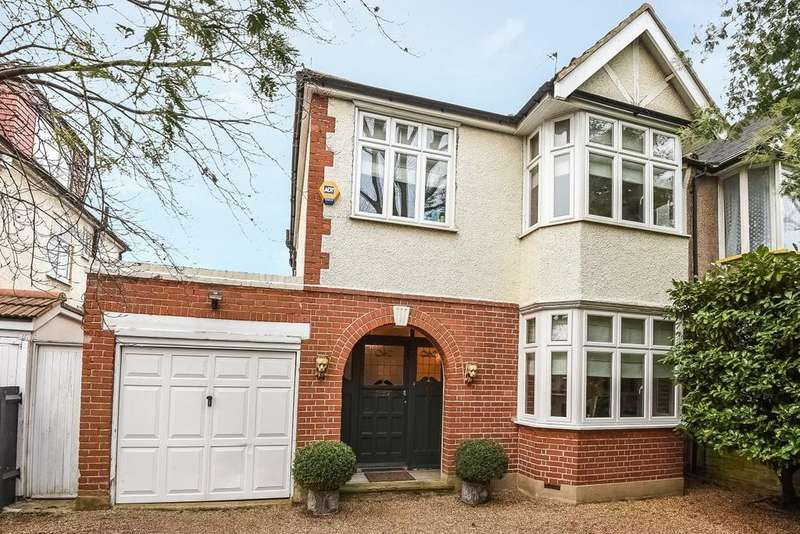 3 Bedrooms Semi Detached House for sale in Boston Road, Hanwell, W7