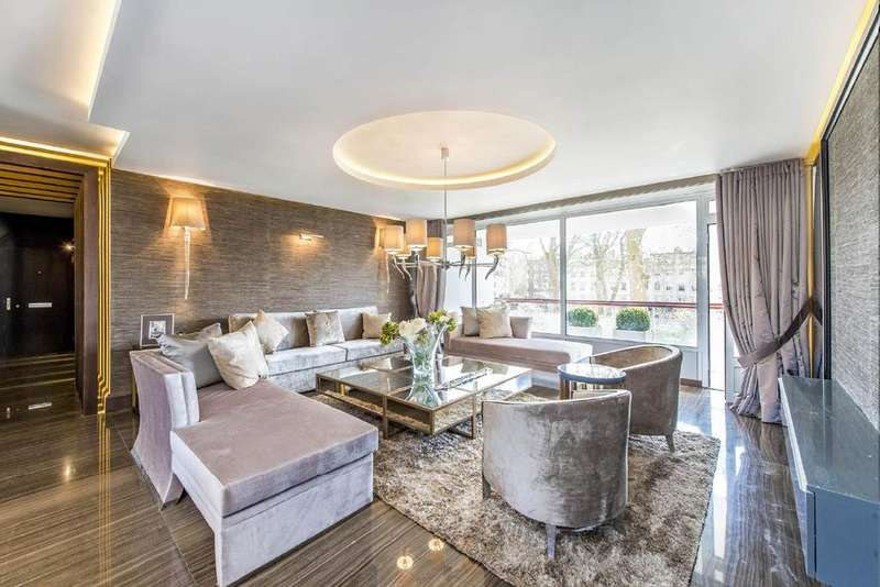 3 Bedrooms Flat for sale in Gloucester Square, Hyde Park Estate, W2