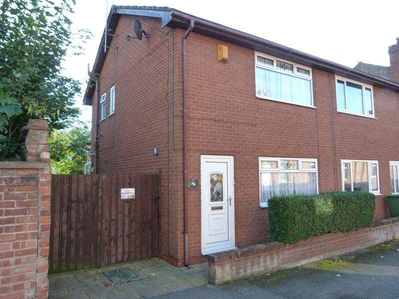 2 Bedrooms Semi Detached House for sale in Audley Street, Crewe, Cheshire, CW1