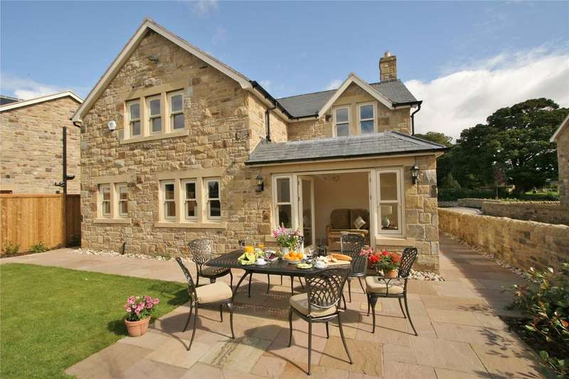 4 Bedrooms Detached House for sale in Church View, Rennington, Alnwick, Northumberland, NE66