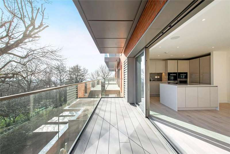 3 Bedrooms Flat for sale in Kidderpore Green, Kidderpore Avenue, Hampstead, London, NW3