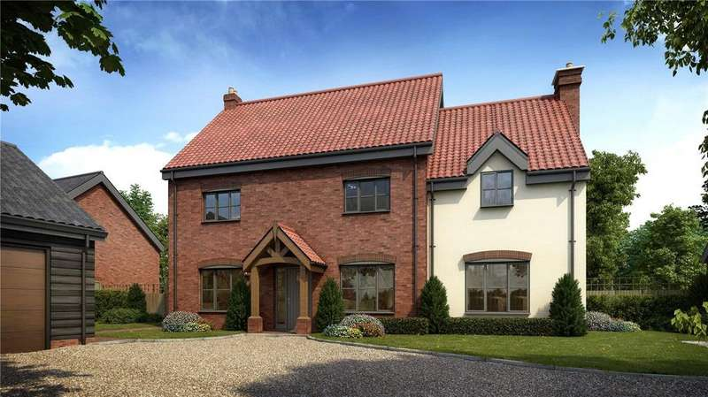 5 Bedrooms Detached House for sale in Plot 6, All Saints Meadow, Church Road, Wreningham, Norwich, NR16