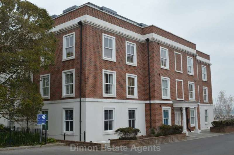 2 Bedrooms Flat for sale in Flagstaff House, Royal Clarence Yard