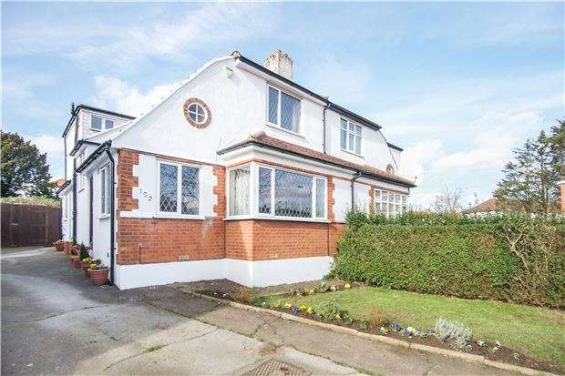 4 Bedrooms Semi Detached House for sale in Mollison Way, Edgware, Middx, HA8 5QT
