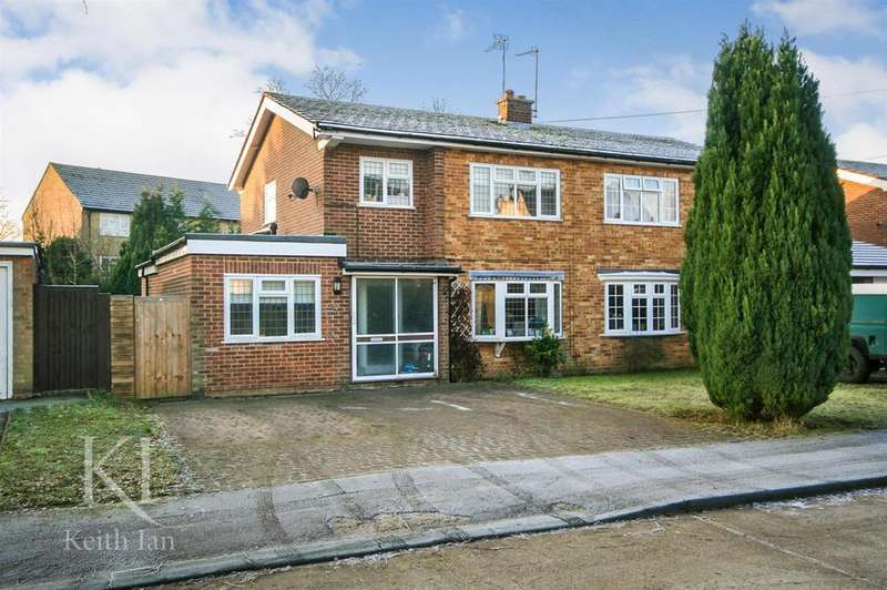 3 Bedrooms Semi Detached House for sale in Evergreen Road, Ware