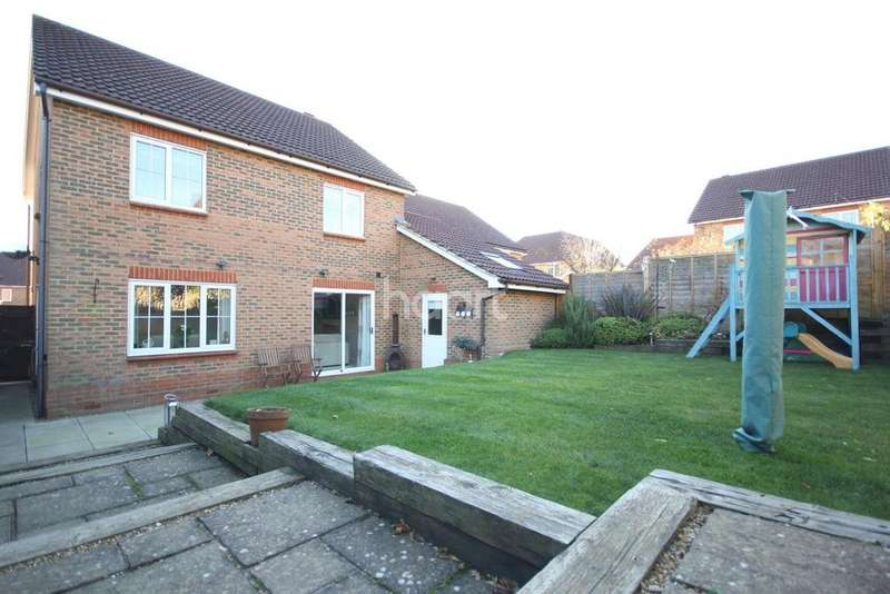 4 Bedrooms Detached House for sale in Sycamore Lane, Godinton, Ashford, TN23
