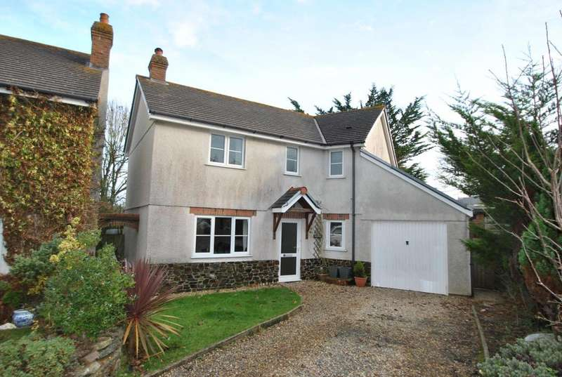 3 Bedrooms Detached House for sale in Old Orchard Close, Marhamchurch