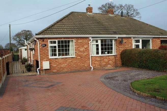 2 Bedrooms Semi Detached Bungalow for sale in New Dawn, 57 Newport Road, Edgmond, Newport, Shropshire, TF10 8HQ